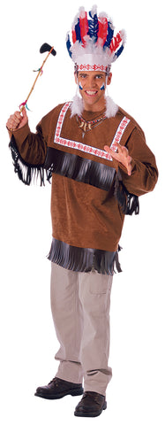 COSTUME - CHEROKEE WARRIOR  ADULT