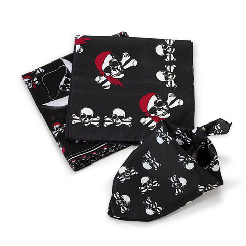 BANDANA - PIRATE                 12 CT/PKG