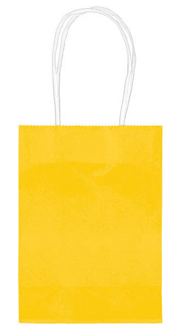 BAG - YELLOW SOLID SMALL CUB EACH
