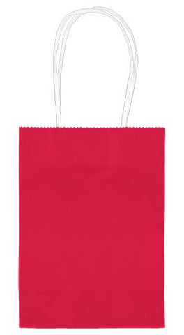 BAG - RED SOLID SMALL CUB EACH