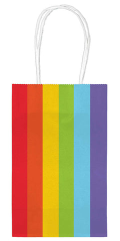 SMALL RAINBOW GIFT BAG 10 PACK