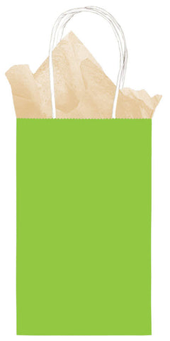 BAG - LIME SOLID    SMALL CUB                  EAC