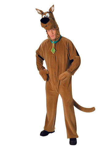 COSTUME - SCOOBY DOO    DELUXE         ADULT