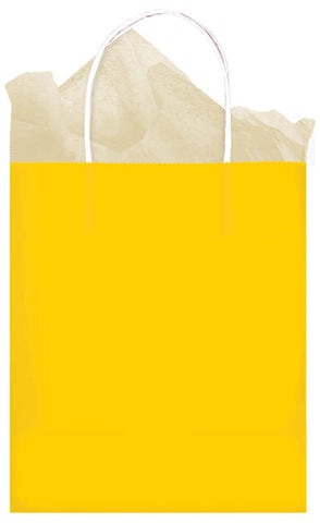 BAG - YELLOW MEDIUM KRAFT EACH