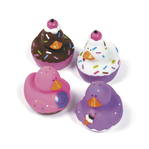 RUBBER DUCKS -SWEET TREAT 12PCS/PKG