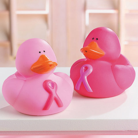 DUCKS - PINK RIBBON               12 CT/PKG