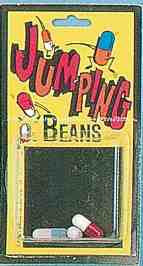 JUMPING BEAN                 3PCS/CARD