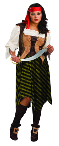COSTUME - PIRATE WENCH           PLUS