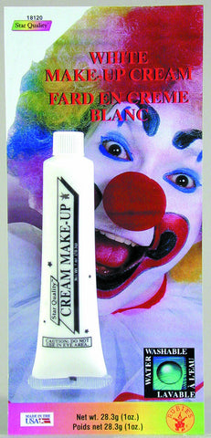 MAKE UP - WHITE CREAM 1 OZ TUBE