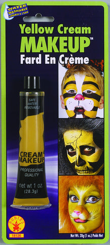 MAKE UP - YELLOW CREAM 1 OZ TUBE