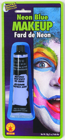 MAKE UP - BLUE NEON CREAM  1 OZ TUBE