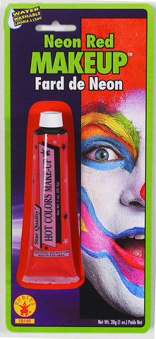 MAKE UP - RED NEON CREAM 1 OZ TUBE