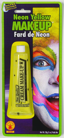 MAKE UP - NEON YELLOW 1 OZ TUBE