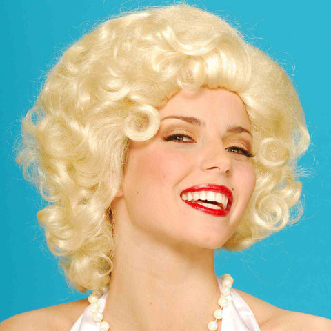 Blonde Bombshell Wig - Adult