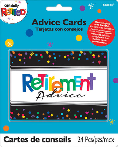 RETIREMENT ADVICE CARDS
