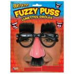 FUZZY PUSS GAG GLASSES (GROUCHO)