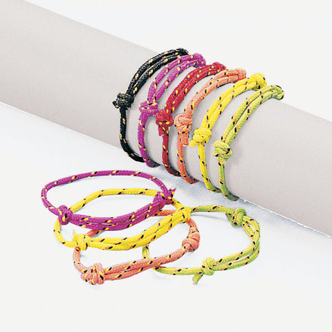 FRIENDSHIP ROPE BRACELETS ADJUSTABLE     72 PC/UNI