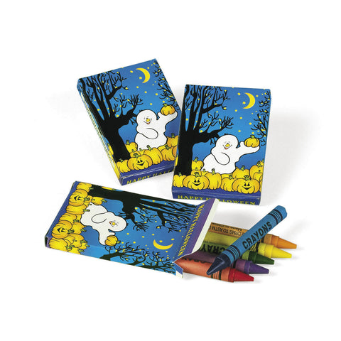 CRAYON - HALLOWEEN      24 BOXES/UNIT      *