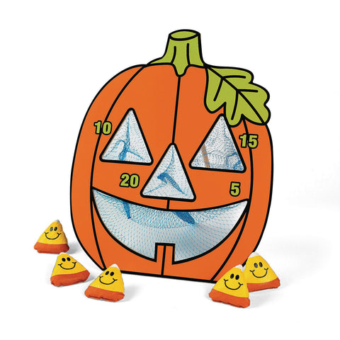 JACK O LANTERN BEAN BAG TOSS GAME