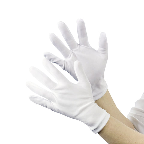 GLOVES - WHITE  ADULT THEATRICAL           PAIR