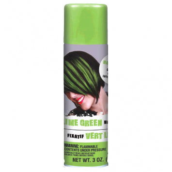 Lime Green Hairspray