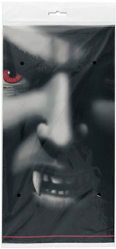 "VAMPIRE GRIN TABLECOVER 54"" X 84""   1PC/PKG"