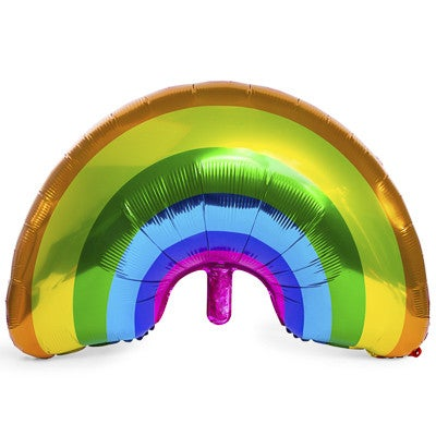 RAINBOW SUPER SHAPE MYLAR BALLOON