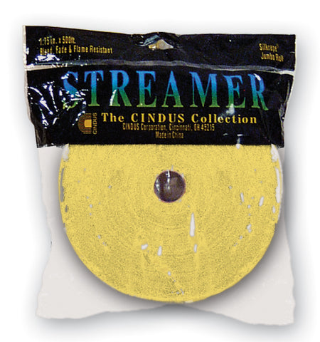 CREPE STREAMER - 500' CANARY