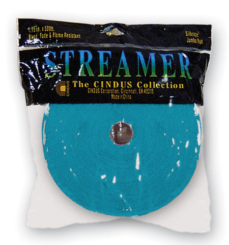 CREPE STREAMER - 500' TURQUOISE