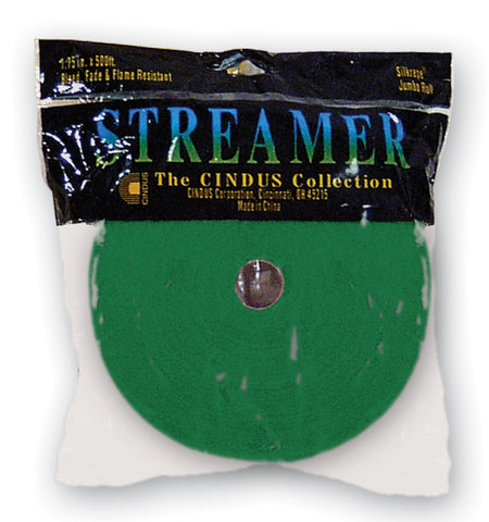 CREPE STREAMER - 500' EMERALD GREEN