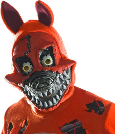 NIGHTMARE FOXY 3/4 MASK - ADULT