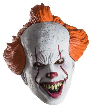 "PENNYWISE ""IT"" 3/4 MASK - ADULT"