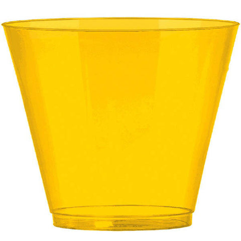 9oz Yellow Tumblers