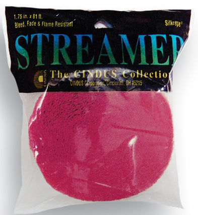 CREPE STREAMER - 81' BOMBAY PINK