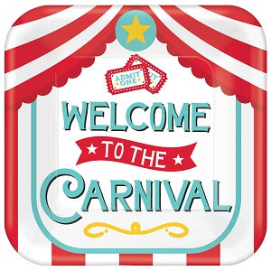 "WELCOME TO THE CARNIVAL 18"" MYLAR BALLOON"