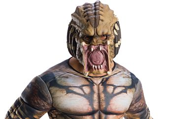 ASSASSIN PREDATOR 3/4 MASK - ADULT