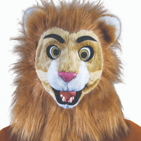 Moving Mouth Lion Mask