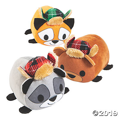 ROLY POLY CHRISTMAS PLUSH PKG OF 12