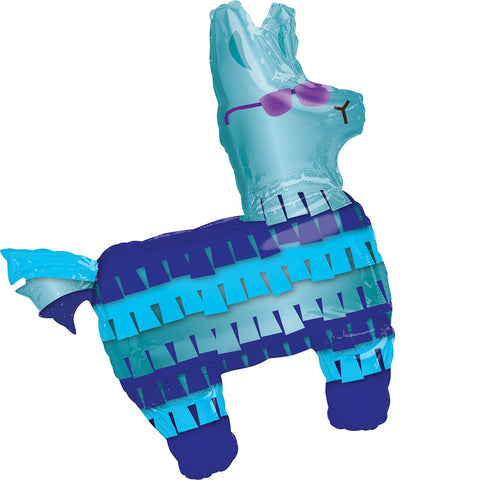 BATTLE ROYAL LLAMA MYLAR SUPER SHAPE BALLOON