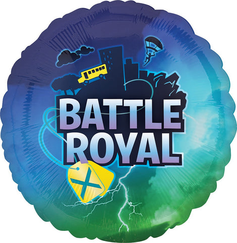 "BATTLE ROYAL 18"" MYLAR BALLOON"