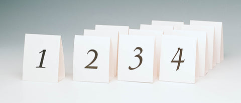 TABLE CARDS WITH NUMBERS