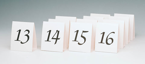 TABLE CARDS WITH NUMBERS 13-24