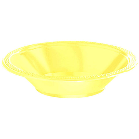 BOWL - LT YELLOW   12 OZ