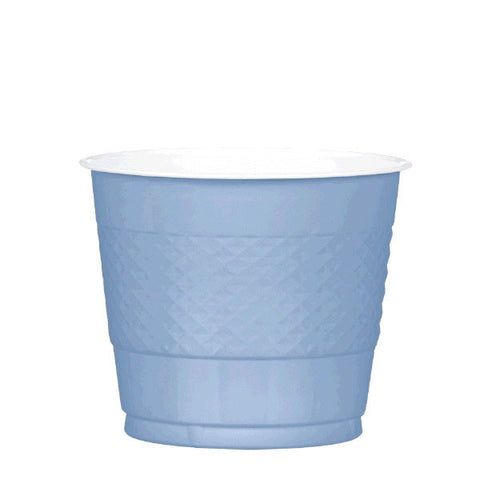 PLASTIC CUPS - PASTEL BLUE   9OZ   20 COUNT