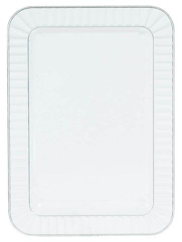 "PLATE - APPETIZER CLEAR 5""X7""           32 CT/PKG"