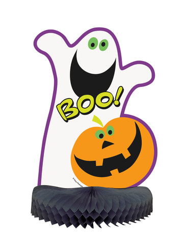 "BOO GHOST CENTERPIECE 14""              1PC/PKG"