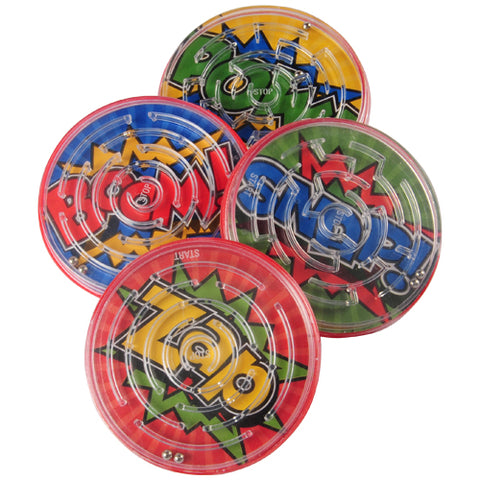 SUPERHERO BALL PUZZLES 12PCS/PKG