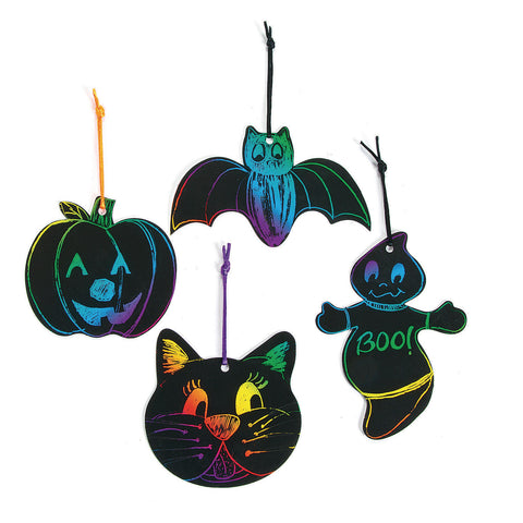 HALLOWEEN MAGIC SCRATCH CRAFT KIT