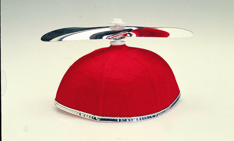 HAT - BEANIE W/PROPELLER ASST. COLORS