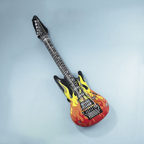 INFLATABLE - GUITAR FLAMES LARGE         EACH